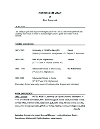 Best Resume Job by Examples Of Resumes Example Resume Best For Your Job Search 81