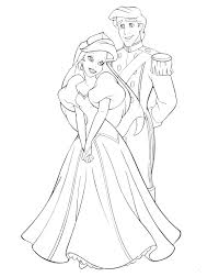 luxury princess ariel coloring pages 13 in coloring pages online