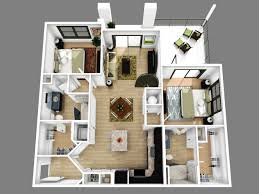 2 bedroom apartment floor plans 3d amazing decoration 416118