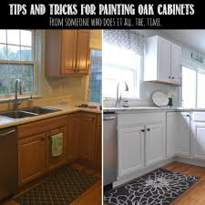Quality Kitchen Cabinets San Francisco Tips Tricks For Painting Oak Cabinets Evolution Of Style