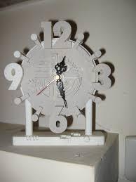 3d printed clock design by claudio salvatore letterato pinshape