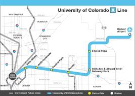 Map Of Colorado by Rtd Facts And Figures East Light Rail Line