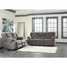 Ashley Furniture Loveseat Recliner Signature Design By Ashley Tulen Contemporary Reclining Loveseat