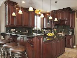 Kitchen Design Traditional by Kitchen Colors With Dark Wood Cabinets Outofhome Regarding Kitchen