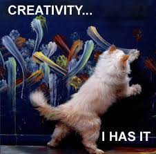 cat that has creativity
