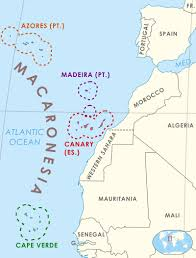Map Of Europe And Africa by Macaronesia Is A Collection Of Four Archipelagos In The North