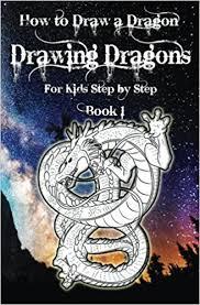 draw dragon drawing dragons kids step step book