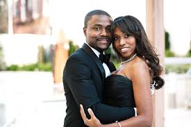 Farrah   Abi  A Modern Nigerian Haitian Wedding in Brooklyn   The     Such a sexy couple
