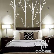 Bedroom Wall Decals Trees Uncategorized White Tree Wall Decal Vinyl Wall Decal Tree Birch