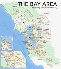 San Francisco Bart Map Urban Dictionary Map Of San Francisco Is Actually Surprisingly