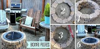 Ideas For Fire Pits In Backyard by 40 Diy Fire Pit Ideas Home Design Garden U0026 Architecture Blog
