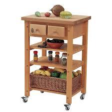 eddingtons highclere beech wooden kitchen trolley robert dyas