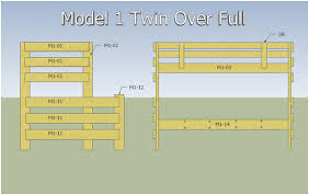 Plans For Building Bunk Beds by Bunk Bed Plans Loft Bed Plans Home Woodworking Business