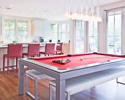 Pool Table In Dining Room by Dining Table Converts Pool Table Houzz