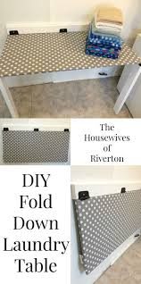 diy drop down laundry table laundry laundry table and desks