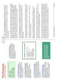 742 Evergreen Terrace Floor Plan Ks3 Writing To Inform Explain Describe Teachit English