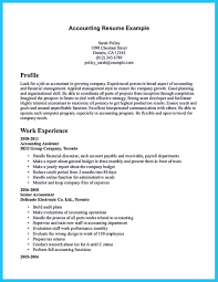 Sample Staff Accountant Resume by Sample For Writing An Accounting Resume