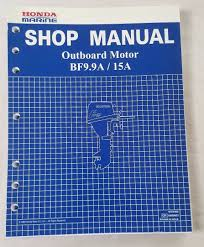 1988 honda marine outboard motor bf9 9a bf15a service shop