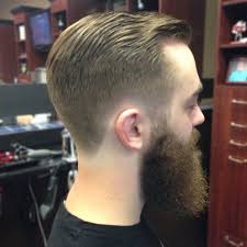 mens short hairstyles back view men39s haircuts with long beards