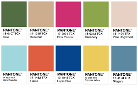 Pantone 2017 by 2017 Color Trend Predictions Stellar Nine Design