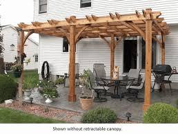 Pergolas Home Depot by 12 X 20 Breeze 6 Post Cedar Pergola Outdoor Living Today