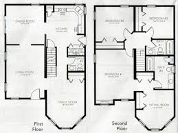 Simple 4 Bedroom House Plans by Projects Design Simple 4 Bedroom 2 Story House Plans 1 Nikura