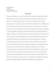 Sample Annotated Bibliography      Documents in Word  PDF