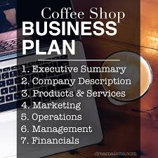 Writing a coffee shop business plan series  How to conclude your business plan with an executive summary  table of contents  and appendix