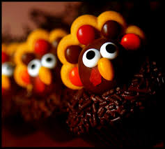 cute thanksgiving cupcakes cute food for kids 30 edible turkey craft ideas for tanksgiving