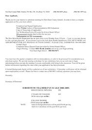 Cover Letter For Substitute Teacher Cover Letter Kent