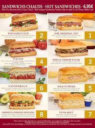 earl of sandwich menu u2014 dlp guide u2022 disneyland paris restaurants