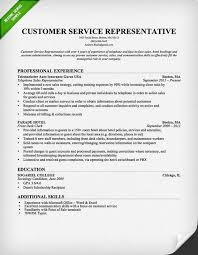 Customer Services Resume Sample by Customer Care Resume