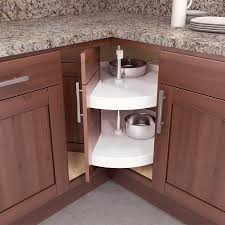 furniture corner cabinet lazy susan for interesting kitchen