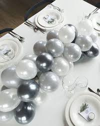 Silver Centerpieces For Table Best 25 Balloon Centerpieces Ideas On Pinterest Helium Balloons