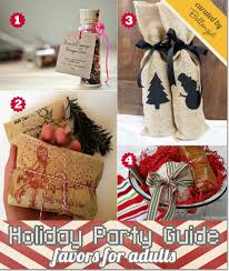 Home Made Christmas Gifts by Homemade Christmas Party Favors