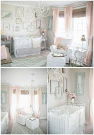 we are madly in love with this vintage chic nursery featuring