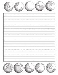 lined paper for writing practice by heart papers the