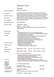 Expert Witness Resume Example by Lawyer Cv Template Legal Jobs Curriculum Vitae Job Application