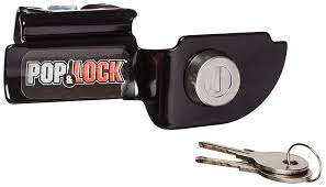 amazon com pop u0026 lock pl3600 black manual tailgate lock for