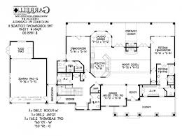 plan lodgemont cottage floor plan great house plans black white