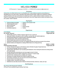 Breakupus Entrancing Nanny Resume Sample Ziptogreencom With Cute Nanny Resume Sample And Get Ideas How To Create A Resume With The Best Way And Picturesque     Break Up