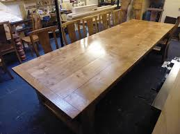 Large Dining Room Tables by Staining Oak Dining Room Table Custom Home Design