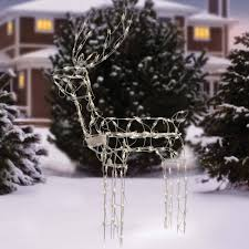 outdoor reindeer lights holiday time 48