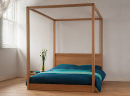 modern four poster king size bed on with hd resolution 1200x890