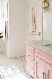 best bathroom ideas pinterest grey decor pink elsie guest bathroom tour before after beautiful mess
