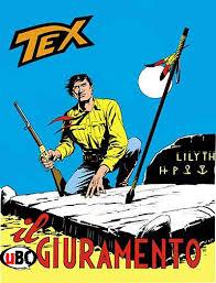 Tex davanti alla tomba della sua amata Lilith