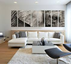 amazon com elephant prints on canvas framed and ready to hang