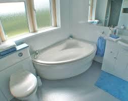 small corner bathtub with shower 141 bathroom photo with 1500