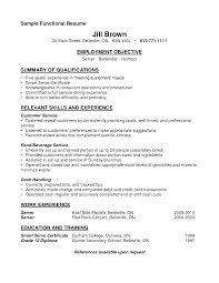 sample resume for accounts receivable sample resume for bartender server template sample resume for bartender server