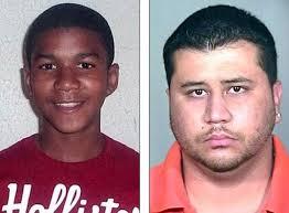 Zimmerman. Trayvon Martin